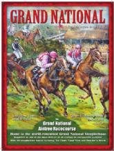 Grand National - Metal Wall Sign (2 sizes)